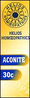 Helios homoeopathic remedy: Aconite 30