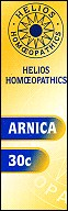 Helios homoeopathic remedy: Arnica 30.