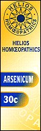 An image of Helios homoeopathic remedy: Arsenicum 30