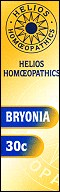 Helios homoeopathic remedy: Bryonia 30