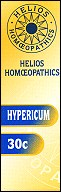 Helios homoeopathic remedy: Hypericum 30.