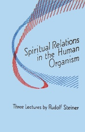Spiritual Relations in the Human Organism - Rudolf Steiner