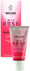 Weleda wild rose skin care products