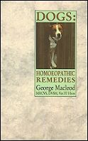 Book: Dogs Homoeopathic Remedies.